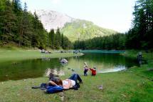 Grünen See in der Steiermark